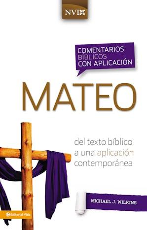 Comentario bíblico con aplicación NVI Mateo book image