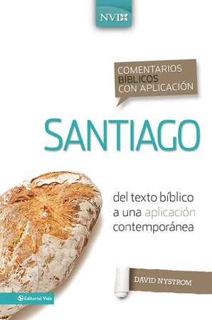 Comentario bíblico con aplicación NVI Santiago book image