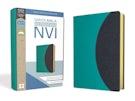 Santa Biblia NVI, Ultrafina, Aqua/Gris