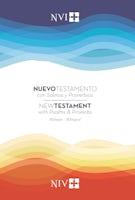 Nuevo Testamento con Salmos y Proverbios NVI/NIV Bilingüe, Rústica
