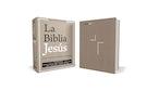 La Biblia Jesús NVI, Tapa Dura, Tela Gris