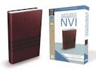 Santa Biblia de Premio y Regalo NVI, Leathersoft, Café