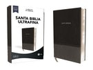 LBLA Santa Biblia Ultrafina, Leathersoft, Negro
