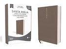 Biblia NBLA, Una Columna con Referencias, Letra Grande, Tapa Dura/Tela, Gris, Edición Letra Roja