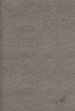 NBLA Biblia de Estudio MacArthur, Tapa Dura/Tela, Gris, Interior a dos colores book image