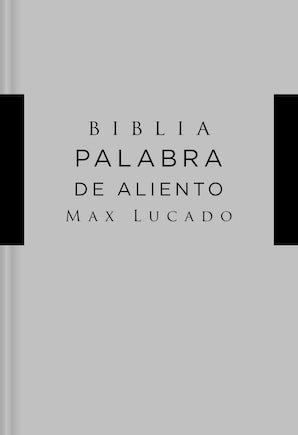 NVI Santa Biblia, Lucado, Palabra de Aliento, Tapa Dura, Gris, Interior a dos colores book image