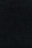 Reina Valera 1960 Santa Biblia Ultrafina Letra Grande, Piel Fabricada, Negro, Interior a dos colores