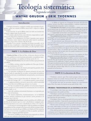 Guía laminada para Teología Sistemática book image