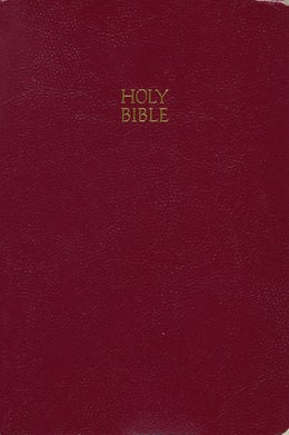 KJV, End-of-Verse Reference Bible, Giant Print, Leathersoft