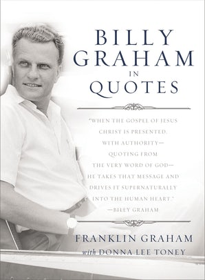 Billy Graham in Quotes book image