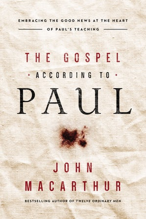 The Gospel According to Paul book image
