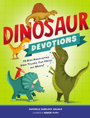 Dinosaur Devotions book image