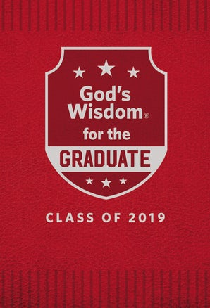 God's Wisdom for the Graduate: Class of 2019 - Red book image