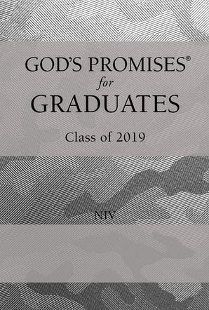 God's Promises for Graduates: Class of 2019 - Silver Camouflage NIV book image