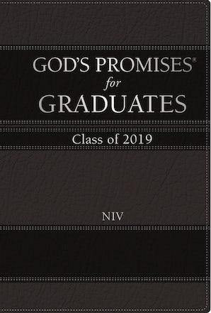 God's Promises for Graduates: Class of 2019 - Black NIV book image