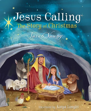 Jesus Calling: The Story of Christmas (board book) book image