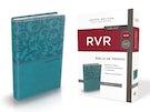 Biblia de Premio y Regalo Reina Valera Revisada, Leathersoft, Aqua