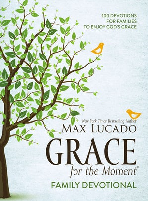 Grace for the Moment Family Devotional book image