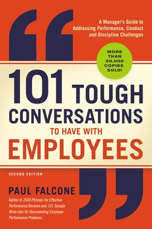 101 Tough Conversations to Have with Employees book image