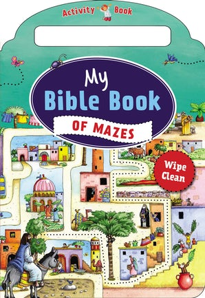 My Bible Book of Mazes book image