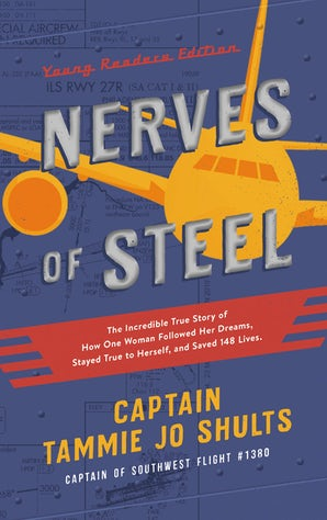 Nerves of Steel (Young Readers Edition) book image