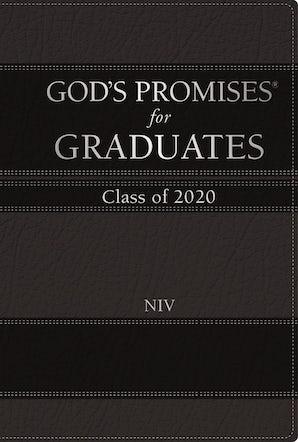 God's Promises for Graduates: Class of 2020 - Black NIV book image