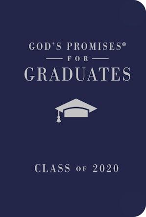 God's Promises for Graduates: Class of 2020 - Navy NKJV book image