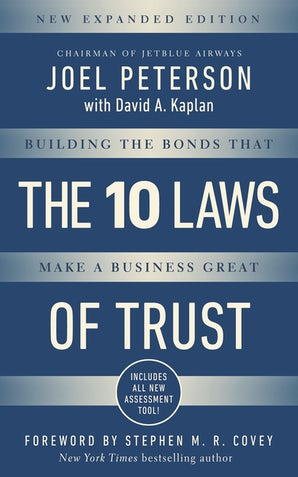 10 Laws of Trust, Expanded Edition book image
