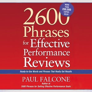2600 Phrases for Effective Performance Reviews book image