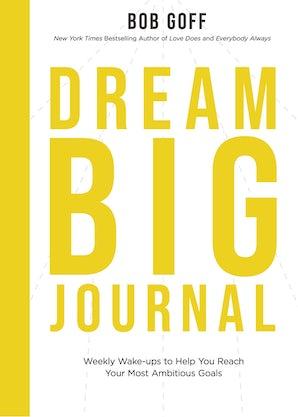 Dream Big Journal book image
