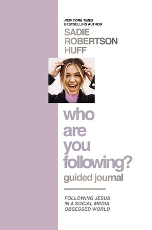 Who Are You Following? Guided Journal book image