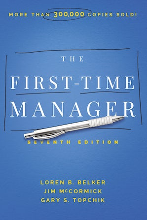The First-Time Manager book image
