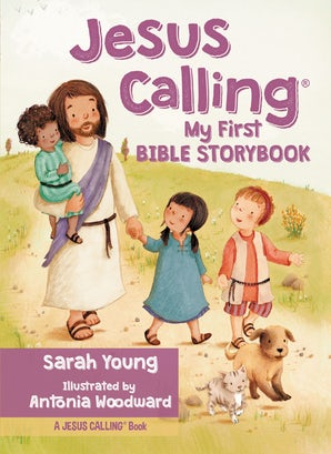 Jesus Calling My First Bible Storybook book image