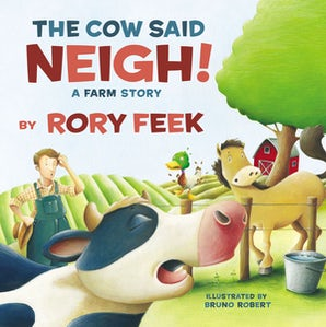 The Cow Said Neigh! (board book) book image