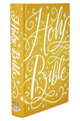 ICB, Golden Princess Sparkle Bible, Hardcover