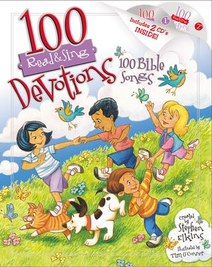 100 Devotions, 100 Bible Songs book image