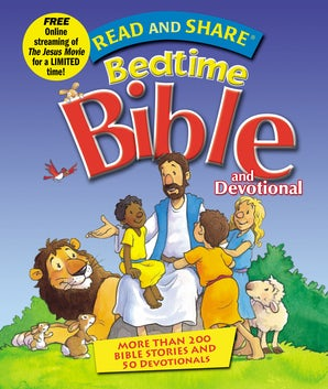 Read and Share Bedtime Bible and Devotional book image