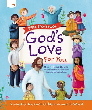 God's Love For You Bible Storybook book image