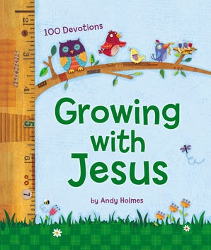 Growing with Jesus book image