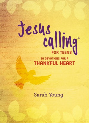 Jesus Calling: 50 Devotions for a Thankful Heart book image