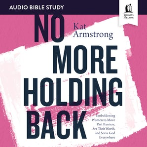 No More Holding Back: Audio Bible Studies book image