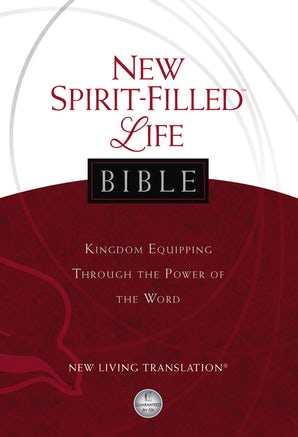 NLT, New Spirit-Filled Life Bible, Hardcover book image