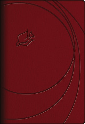 NLT, New Spirit-Filled Life Bible, Leathersoft, Red, Indexed book image