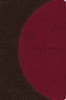 NIV, Chronological Study Bible, Leathersoft, Brown/Pink