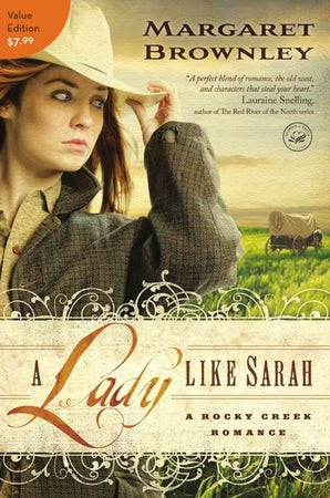 A Lady Like Sarah Paperback  by Margaret Brownley