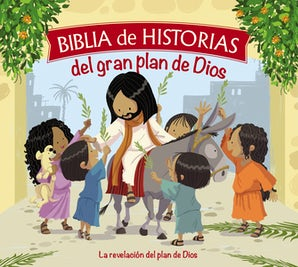 Biblia de historias del gran plan de Dios book image