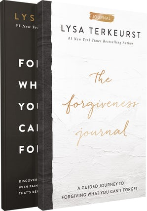 Forgiving What You Can't Forget with The Forgiveness Journal book image