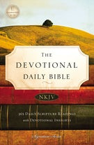 NKJV, The Devotional Daily Bible, Hardcover