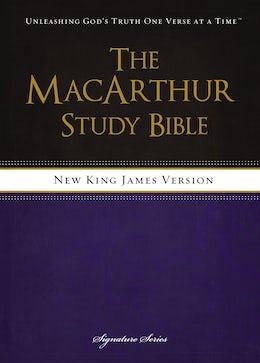 NKJV, The MacArthur Study Bible, Hardcover