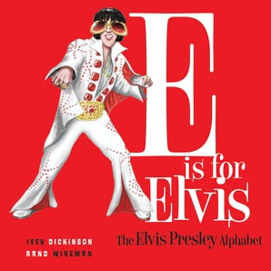 E is for Elvis book image